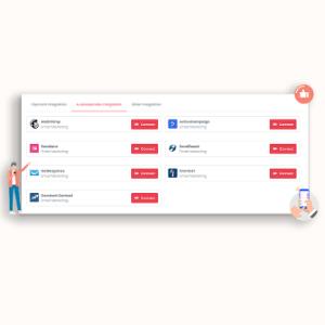 MarketPresso V2 Features - Email Integration