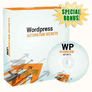 Special Bonuses - May 2020 - WP Automation Secrets Video Series Pack