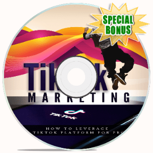 Special Bonuses - May 2020 - Tik Tok Marketing Video Upgrade Pack