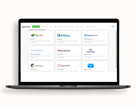 Upreachr Features - Optional integration with your own email service provider (SMTP) so you can email influencers through your own server and look more professional, it's your choice though, you can use ours as standard.