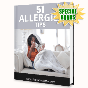 Special Bonuses - June 2020 - 51 Allergies Tips