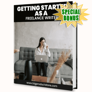 Special Bonuses - June 2020 - Getting Started As A Freelance Writer