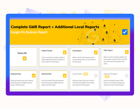 LeadsGorilla Features - Generate The Most Advanced GMB Reports