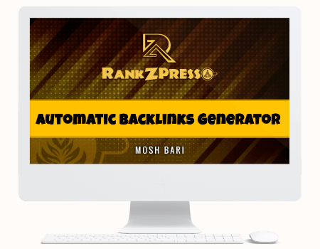 RankZPresso Features - Module #7 - Automatic Backlinks Generator