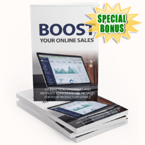Special Bonuses - July 2020 - Boost Your Online Sales Pack