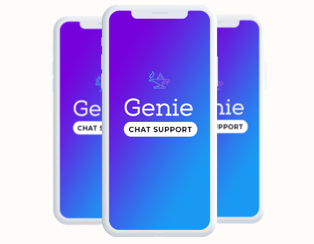 Genie Features - LIVE Chat Support