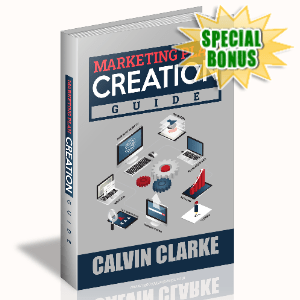 Special Bonuses - August 2020 - Marketing Plan Creation Guide