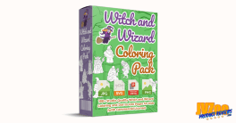 Witch and Wizard Coloring Pack Review and Bonuses