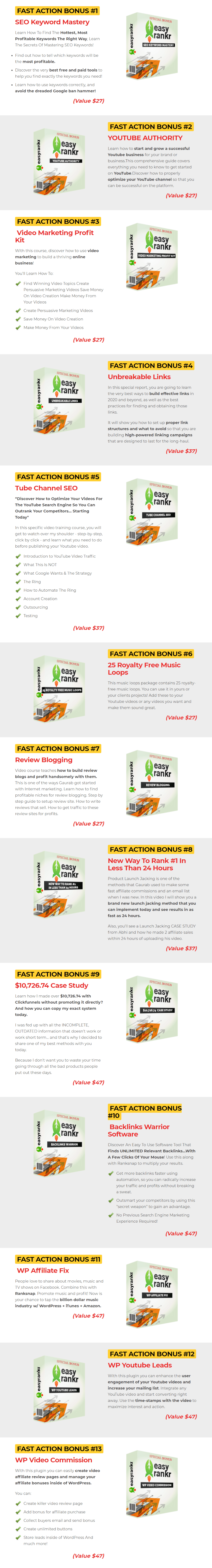EasyRankr Review and Bonuses + SPECIAL BONUSES & COUPON |  JVZooProductReviews.com