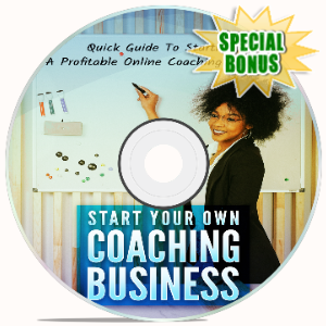 Special Bonuses - September 2020 - Start Your Own Coaching Business Video Upgrade Pack