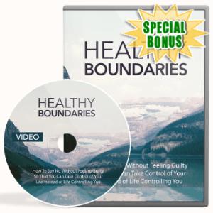 Special Bonuses - September 2020 - Healthy Boundaries Video Upgrade Pack