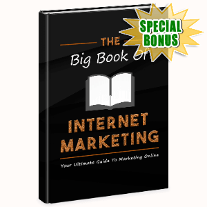 Special Bonuses - October 2020 - The Big Book Of Internet Marketing