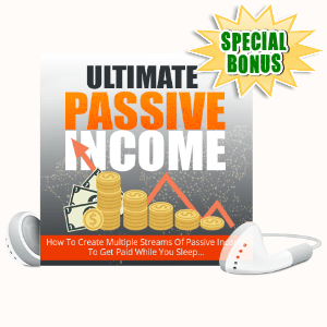 Special Bonuses - October 2020 - Ultimate Passive Income