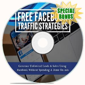 Special Bonuses - November 2020 - Free Facebook Traffic Strategies Video Upgrade Pack