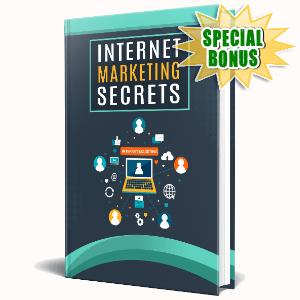 Special Bonuses - November 2020 - Internet Marketing Secrets
