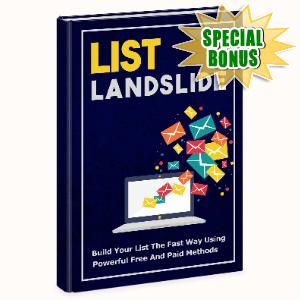 Special Bonuses - December 2020 - List Landslide