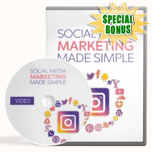 Special Bonuses - December 2020 - Social Media Marketing Made Simple Video Upgrade Pack