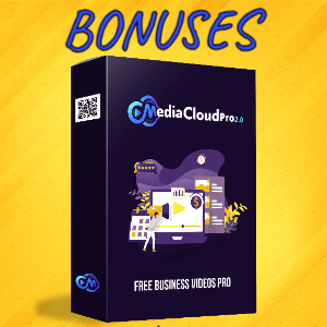 MediaCloudPro V2 Bonuses  - Free Business Videos PRO
