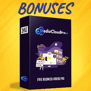 MediaCloudPro V2 Bonuses  - Free Business Videos PRO