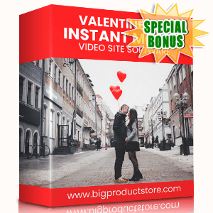 Special Bonuses - January 2021 - Valentine Day Instant Mobile Video Site Software