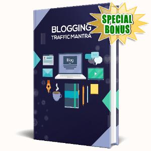 Special Bonuses #22 - January 2021 - Blogging Traffic Mantra