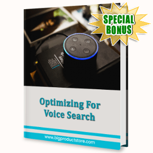 Special Bonuses #13 - February 2021 - Optimizing For Voice Search