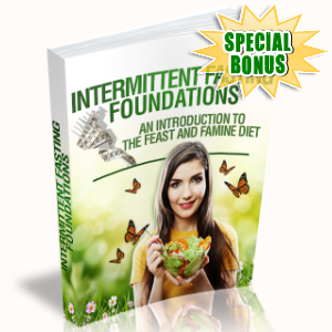 Special Bonuses #19 - February 2021 - Intermittent Fasting Foundations Pack
