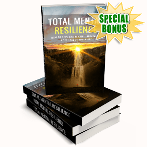 Special Bonuses #24 - February 2021 - Total Mental Resilience Pack