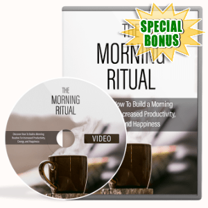 Special Bonuses #35 - February 2021 - The Morning Ritual Video Upgrade Pack