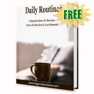 FREE Weekly Gifts - March 22, 2021 - Daily Routines