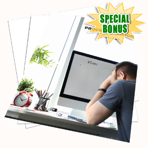 Special Bonuses #6 - March 2021 - Procrastination Ecourse Pack