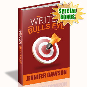 Special Bonuses #14 - March 2021 - Writer Bulls Eye