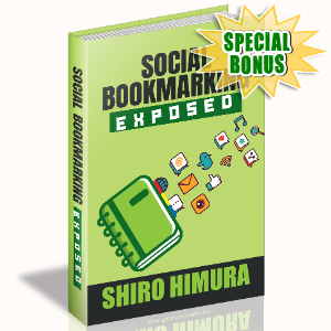 Special Bonuses #18 - March 2021 - Social Bookmarking Exposed