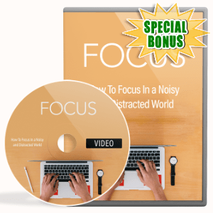 Special Bonuses #32 - March 2021 - Focus Video Upgrade Pack