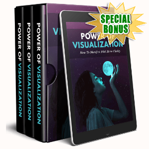 Special Bonuses #35 - March 2021 - Power Of Visualization Video Upgrade Pack