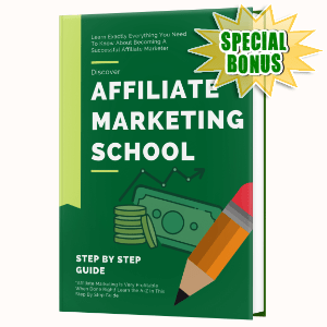 Special Bonuses #19 - May 2021 - Affiliate Marketing School Pack