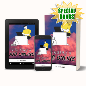 Special Bonuses #26 - May 2021 - Finding A Job Online