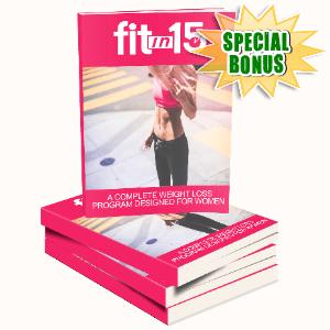 Special Bonuses #33 - June 2021 - Fit In 15 For Women