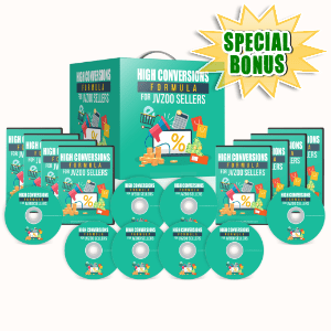Special Bonuses #20 - July 2021 - High Conversions Formula For JVZOO Sellers Video Series Pack