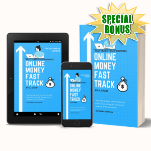 Special Bonuses #26 - July 2021 - Online Money Fast Track