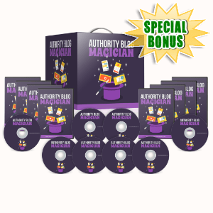 Special Bonuses #27 - July 2021 - Authority Blog Magician Video Series Pack