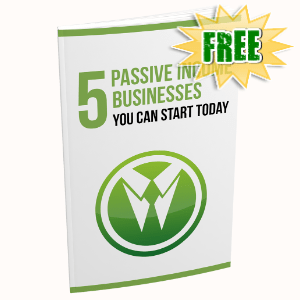 FREE Weekly Gifts - August 2, 2021 - 5 Passive Income Business You Can Start Today