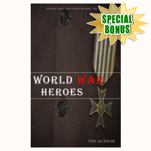 Special Bonuses #12 - August 2021 - World War Heroes Kindle Cover