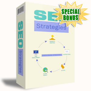 Special Bonuses #21 - August 2021 - SEO Strategies