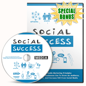 Special Bonuses #23 - August 2021 - Social Success Video Upgrade Pack