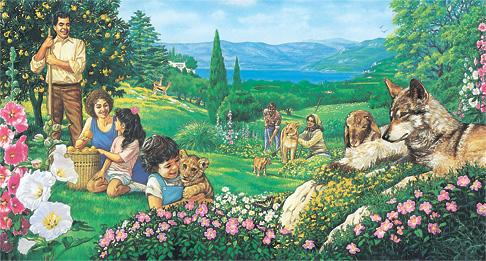 People enjoying Paradise
