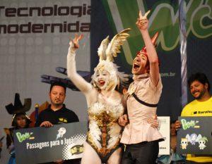 Maurício e Mônica: tricampeões do WCS Brasil
