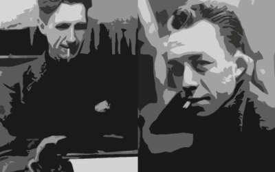 Swimming Against Themselves; George Orwell and Albert Camus