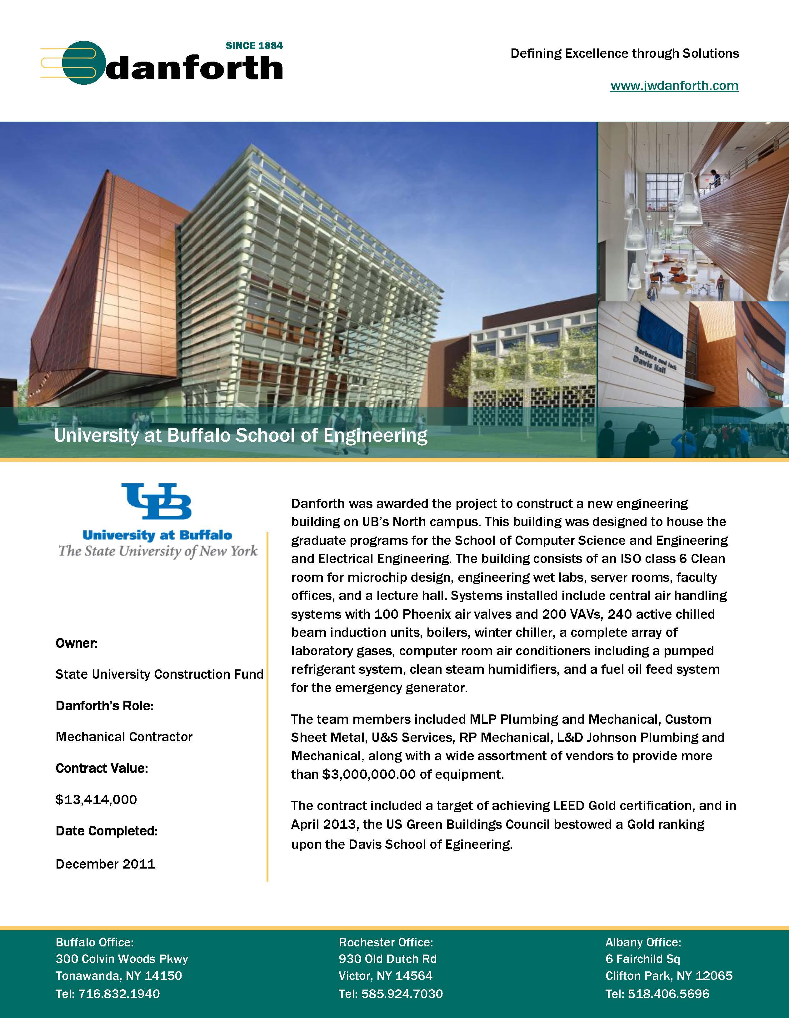 University of buffalo center for case studies