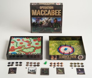 Operation: Maccabee is a dreidel board game with a war theme for teens. photo/ap/modern tribe